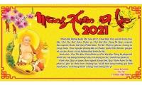 Thư Chúc Tết Tân Sửu - 2021 của Chùa Bửu Kim